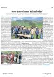 PDF - Der Tössthaler berichtet über die Projekte Alpkäserei und Kuhherde Milchverarbeitung